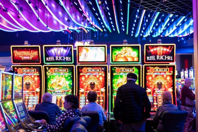 Inside the Desert Diamond West Valley Casino in Glendale.