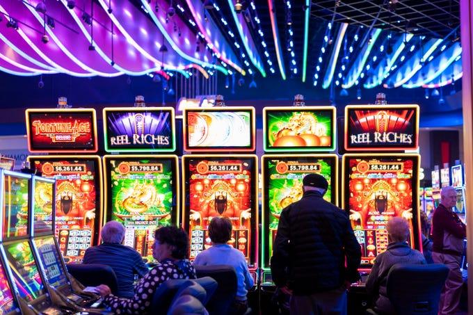 Inside the Desert Diamond West Valley Casino near Glendale.
