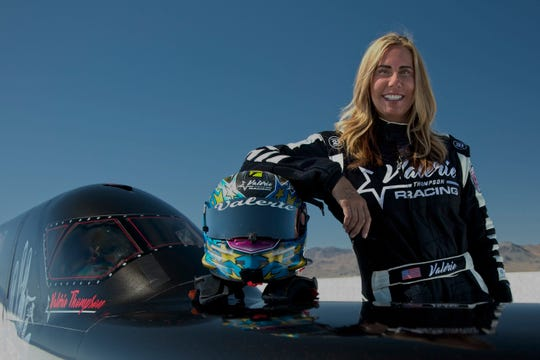 Scottsdale's Valerie Thompson is a 7-time motorcycle land-speed record holder.