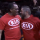 Brad went home a happy man at Thursday's Suns game.