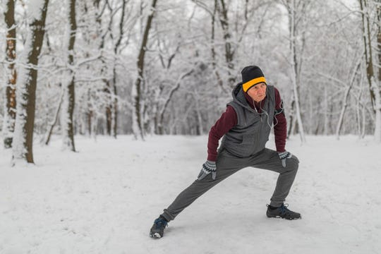 Moderate exercise in the winter can go a long way in reducing the risk for heart disease.