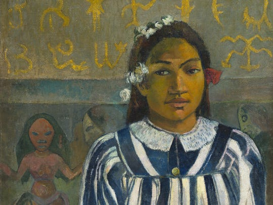 """""""Gauguin from the National Gallery, London"""" is playing at Small Star Art House."""