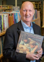 Georg Sheets, a York County historian, editor and author, was recognized in October 2019 as the Martin Library fall honoree. Sheets also worked at the library as planned giving officer.