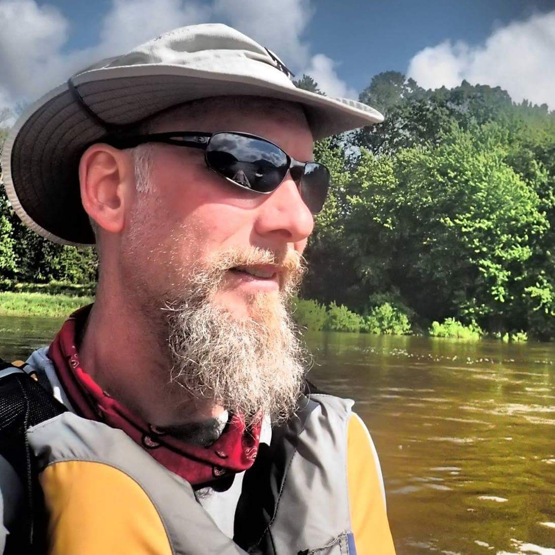 Dana Rockwell, 47, spent two weeks paddling all 444 miles of the Susquehanna River with a friend in the late spring of 2017. He said the beauty and adventure of the trip helped change his relationship to the river he grew up along.