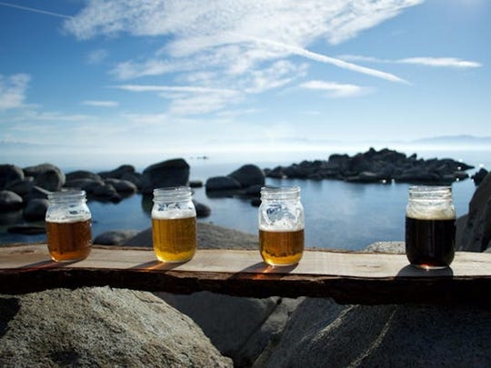 Tahoe Brew Tours' outing on the South Shore of Lake Tahoe features visits to three local breweries, plus tastings