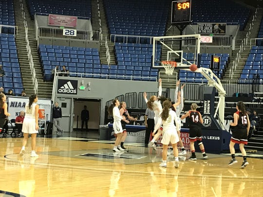 The Incline girls will play White Pine for the girls 2A state championship at 11 a.m. Thursday at Lawlor Events Center in the NIAA/One Nevada state Championship basketball tournament.