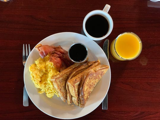 Classic breakfast items are among the brunch options at The Hideaway, 197 Park Ave.