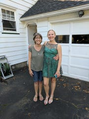 Cindy Bailey, left, and her daughter Kate Barrett, right.
