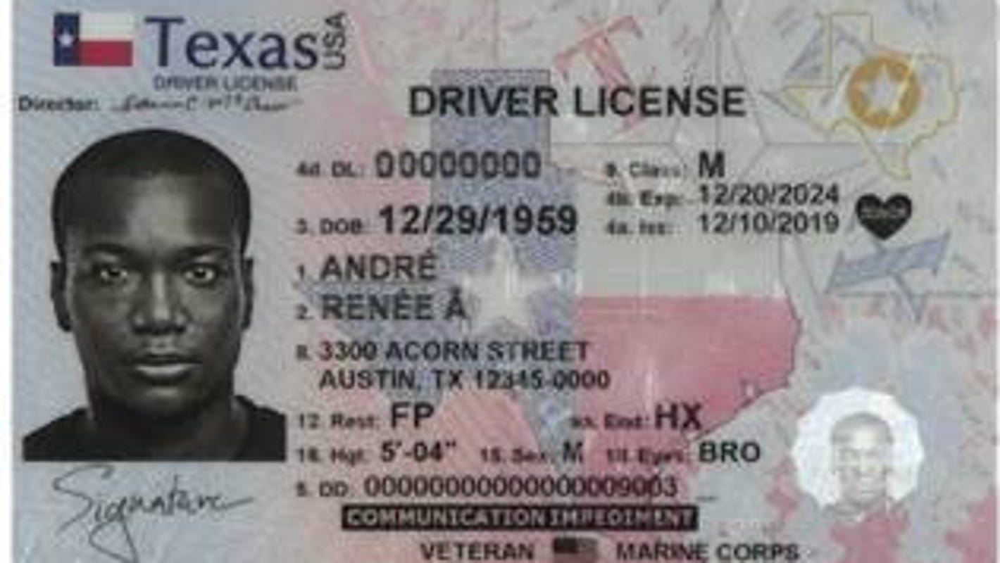 Texas reveals new design for identification cards, here's what you need to know