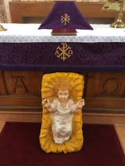 A statue of the an infant Jesus was returned to St. Paul's by-the-Sea Episcopal Church after being stolen and missing for nearly one year.
