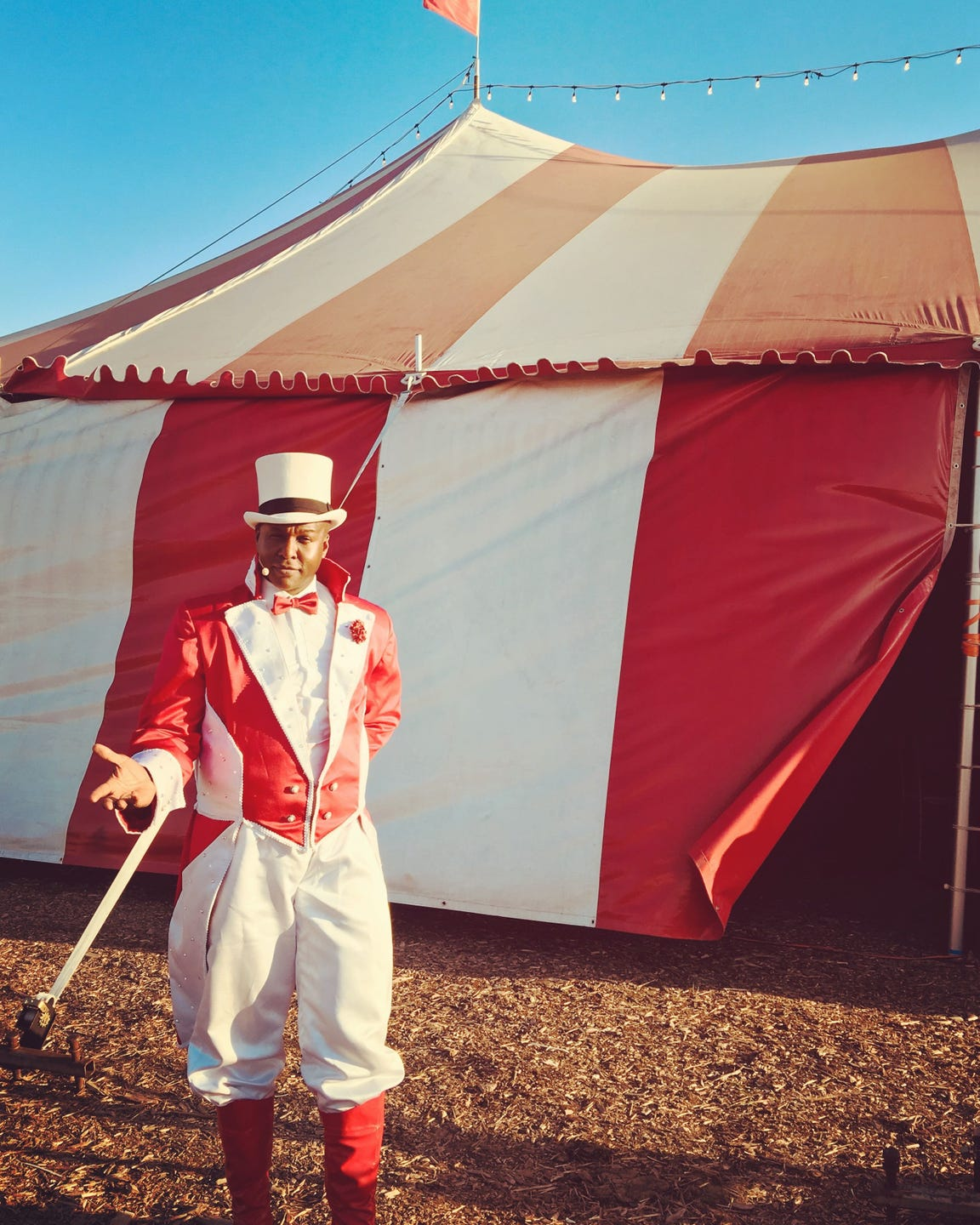Ringmaster Jonathan Lee Iverson will host the Venardos Circus March 4-15 at Riverview Park in Shreveport.