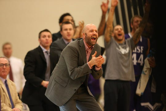 Chris Johnson led USF to the NSIC South title this year