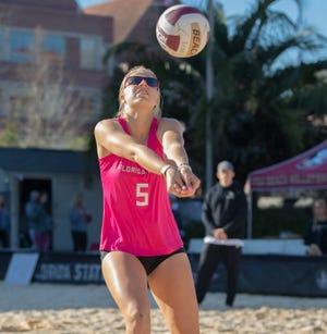 Keara Rutz played a major role in the Seminoles' lone win on a West Coast trip.