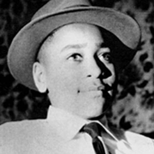 Photo of Emmett Till, 14, who was kidnapped, beaten and lynched in 1955 in Money, Mississippi.