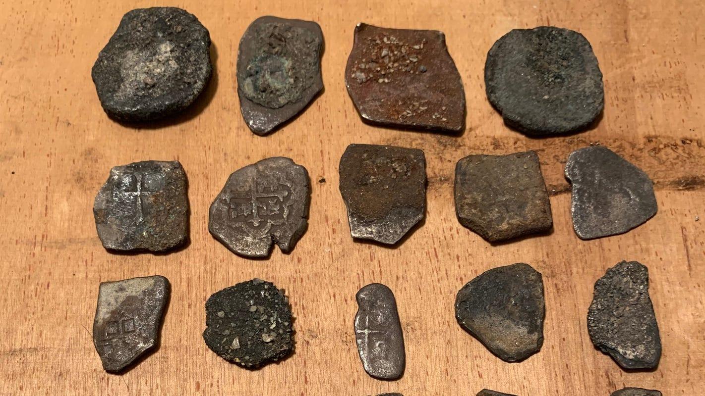 1715 shipwreck coins