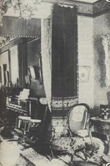 Etta Clark's parlor.
