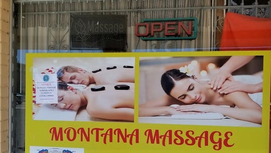 The Montana Massage parlor in El Paso was shut down by a temporary court order on Feb. 26, 2020, amid allegations of employing unlicensed massage therapists.