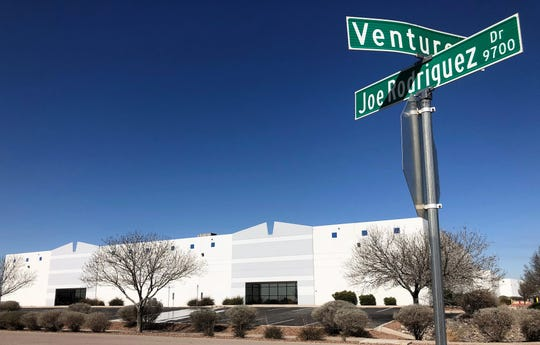 This industrial building at 9660 Joe Rodriguez Drive, which was vacated by a logistics company, is part of a recent sale of 22 industrial buildings in the El Paso-Santa Teresa, New Mexico, area.