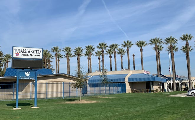 Tulare Western High School in Tulare, California.