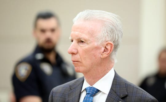 Rockland County District Attorney attends the arraignment of Blanchard Glaudin at Rockland County Court in New City Feb. 27, 2020. Glaudin is charged with killing Sandra Wilson, a security officer at Finkelstein Memorial Library in Spring Valley.