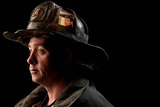 """Dan Foley, photographed by Joe McNally for the """"Faces of Ground Zero"""" project."""