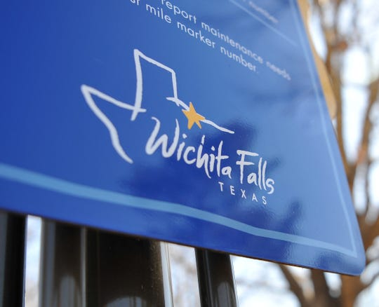 The city of Wichita Falls logo.