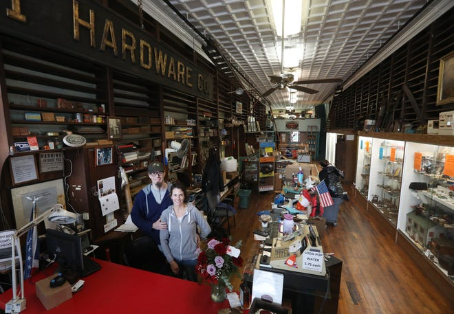 Jimi and Allison Campsey are moving their store Gemini's Eclectic Emporium into the former Clossman Antique Market on Main Street. The new store, to be known as Clossman's Unique Market, will feature all of the delights of Gemini's along with antiques.