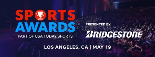 The USA TODAY High School Sports Awards presented by Bridgestone will be held in Los Angeles on May 19.