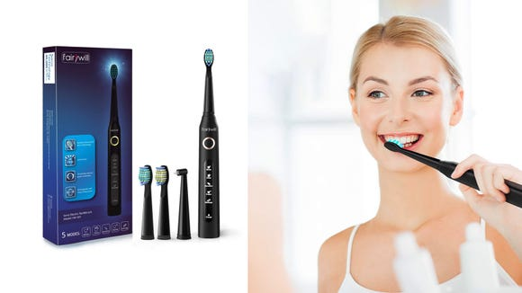 This electric toothbrush has almost 9,000 reviews on Amazon—and now it's on sale.