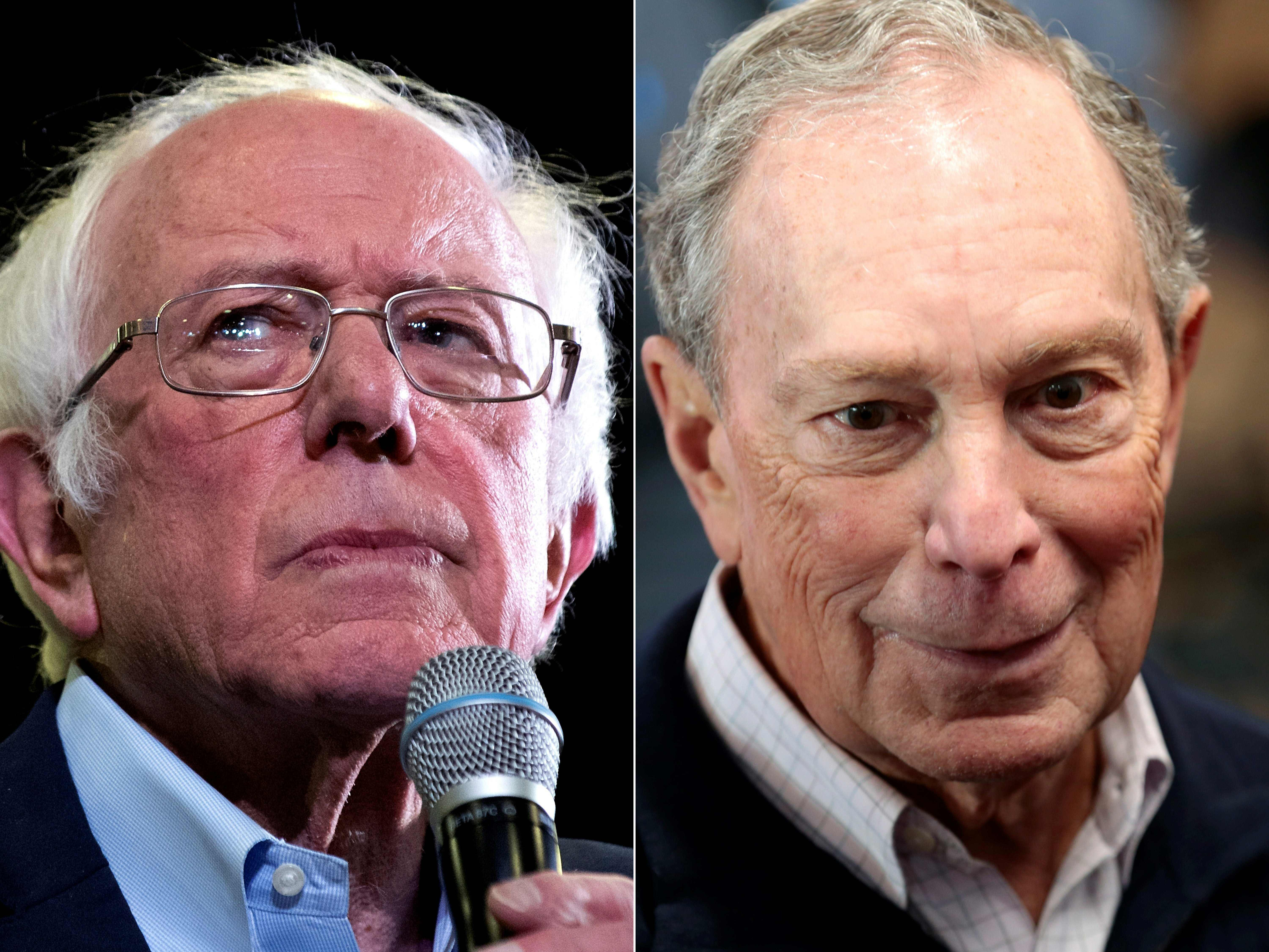 After releasing additional medical records, Bloomberg calls on Sanders to do the same