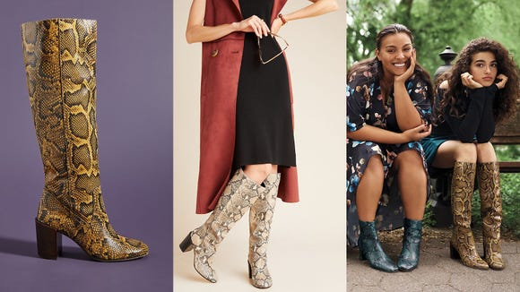 These bold boots have tons of personality, and they can instantly take your look to the next level.