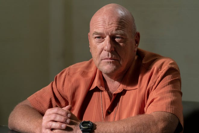 """On """"Better Call Saul,"""" Dean Norris reprises his """"Breaking Bad"""" role as Hank Schrader, a gung-ho DEA agent and brother-in-law of drug kingpin Walter White."""