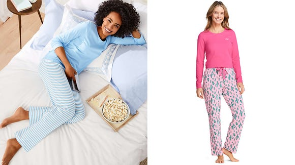 Stay cozy in your own personalized pajamas.