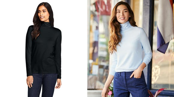 Layer up with this popular turtleneck.