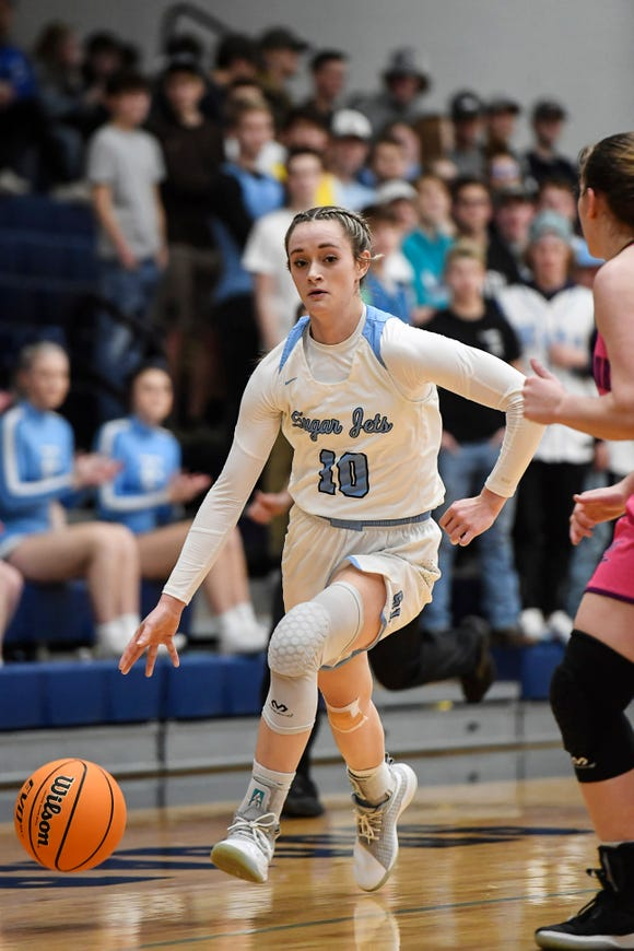 Enka defeated North Guilford 70-59 in the second round of playoffs at Enka February 27, 2020.