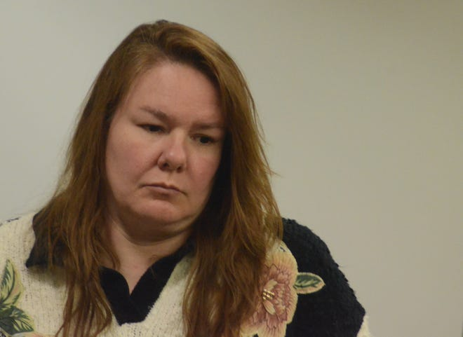 Marcia Lutz was sentenced to probation and fines after burying her mother's body at the family home and embezzling from a church.