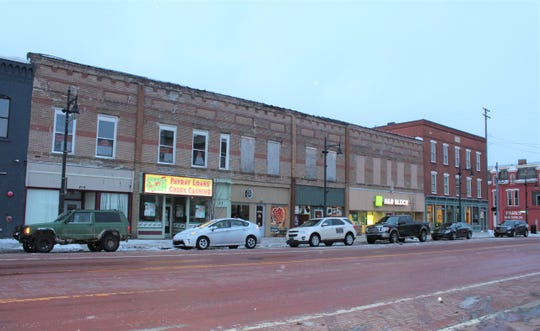 The Brick Street Lofts project will add seven apartments and renovated commercial space to downtown Albion.