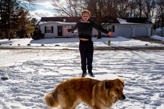 Joshua Neal, who is turning 12, from Battle Creek, Mich. will have his third leap year birthday tomorrow on Saturday, Feb. 29, 2020.