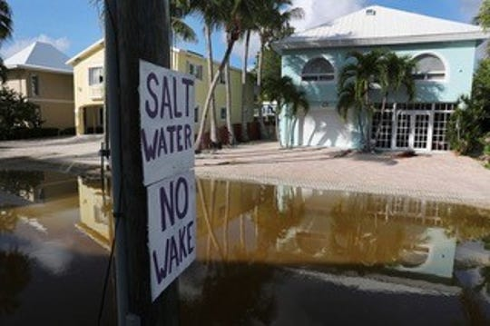 Expensive real estate is at risk because of sea-level rise.
