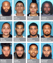 Twelve people have been indicted for alleged participation in a North Camden drug ring, authorities said Friday.
