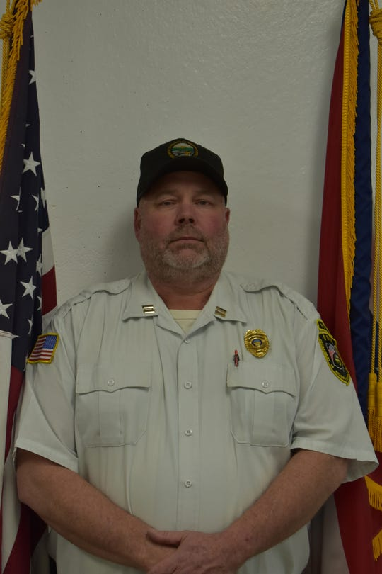 Captain Michael Farley, winner of the Ross Correctional Institution Employee of the Year award.