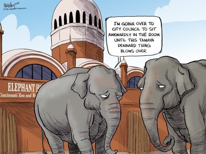 Tamaya Dennard and the elephant in the room