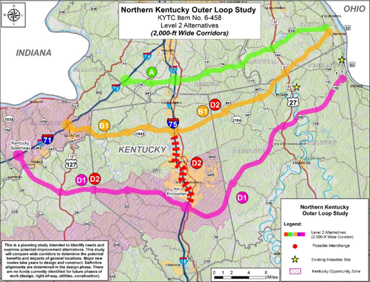 Northern Kentucky Outer Loop Study