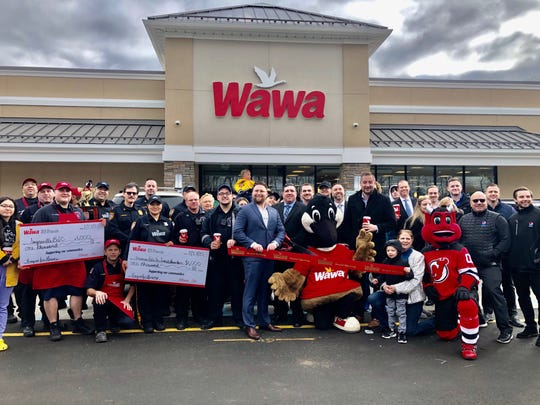 Wawa opened its newest location in Sayreville on Thursday.