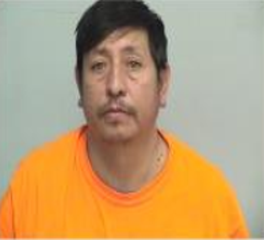 Isaias Flores-Morales of Des Moines shown in a mugshot from Lake County, Illinois.