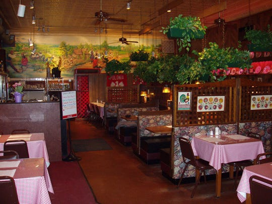 The interior of Polonia Restaurant in Hamtramck, Mich.