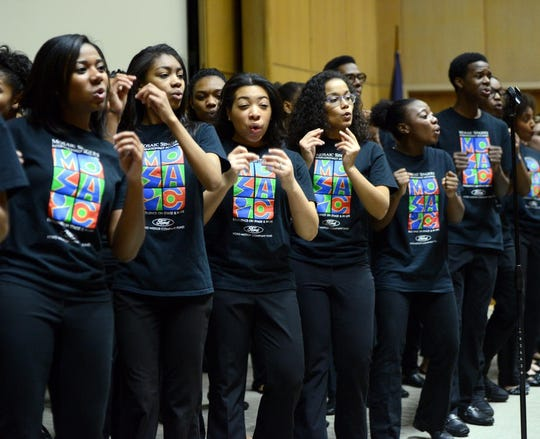 """The youthful Mosaic Singers' """"Life Every Voice"""" will explore the history of black music."""