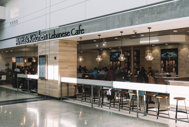 Anita's Kitchen is among the latest group of restaurants to open at Detroit Metro Airport's North Terminal.