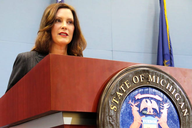 Gov. Gretchen Whitmer declared a state of emergency this week as Michigan reported its first confirmed coronavirus cases.