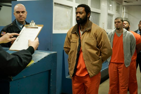 """Nicholas Pinnock, center, in a scene from """"For Life."""""""